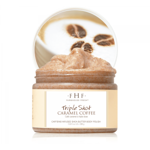 Triple Shot Caramel Coffee Scrub #